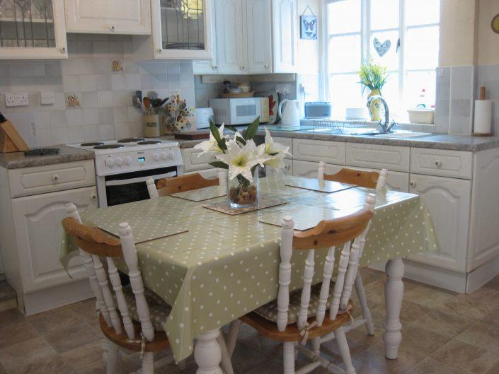 tastefully furnished kitchen