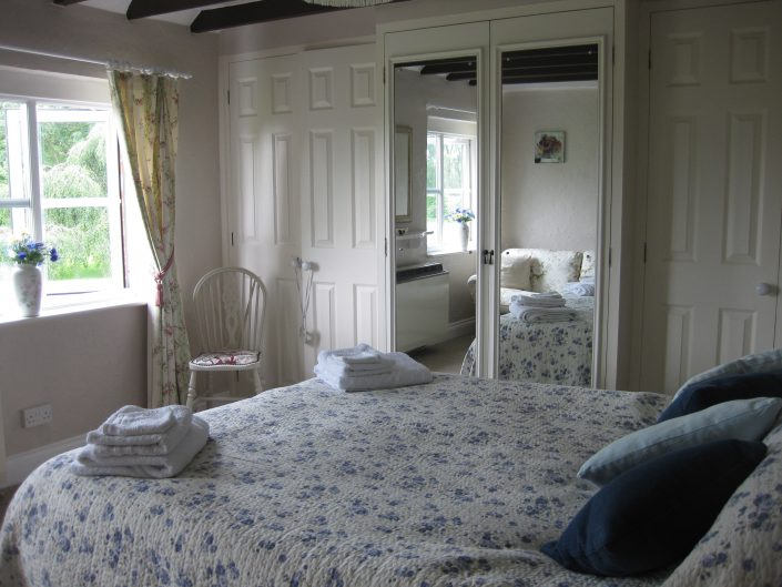bright and airy large double bedroom